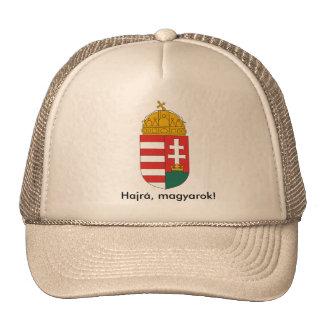 Hungarian national crest cap