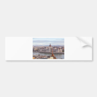 Hungarian Parliament Budapest by day Bumper Sticker