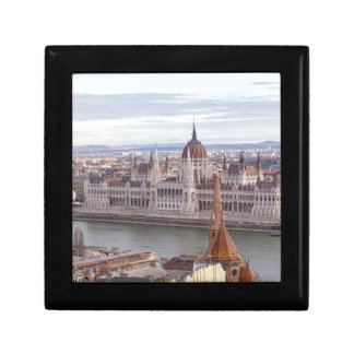 Hungarian Parliament Budapest by day Gift Box