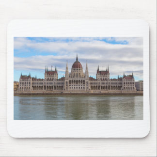 Hungarian Parliament Budapest by day Mouse Pad