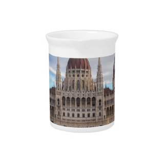 Hungarian Parliament Budapest by day Pitcher