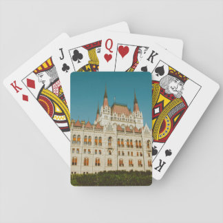 Hungarian Parliament building Playing Cards