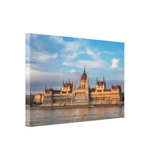 Hungarian Parliament Canvas Print