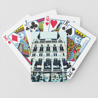 Hungarian Parliament painting Bicycle Playing Cards