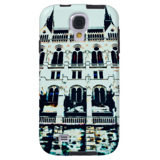 Hungarian Parliament painting Galaxy S4 Case
