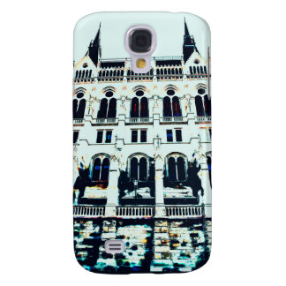 Hungarian Parliament painting Samsung Galaxy S4 Case