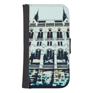 Hungarian Parliament painting Samsung S4 Wallet Case