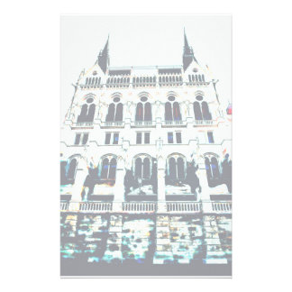 Hungarian Parliament painting Stationery