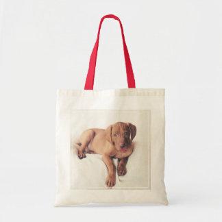 Hungarian Vizsla Puppy Tote Bag
