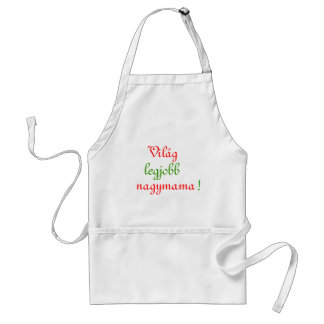 Hungarian Wordls best Grandmother Standard Apron