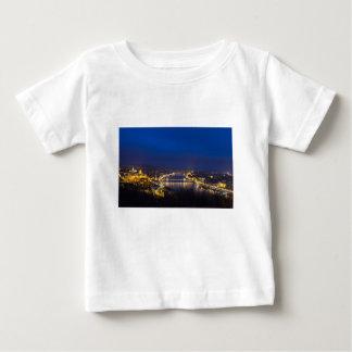Hungary Budapest at night panorama Baby T-Shirt