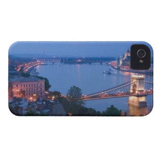 HUNGARY, Budapest: Szechenyi (Chain) Bridge, 2 Blackberry Bold Case