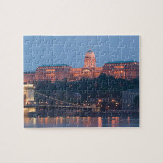 HUNGARY, Budapest: Szechenyi (Chain) Bridge, Puzzle