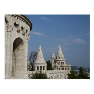 Hungary, capital city of Budapest. Buda, Castle Postcard