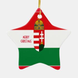 HUNGARY CERAMIC ORNAMENT