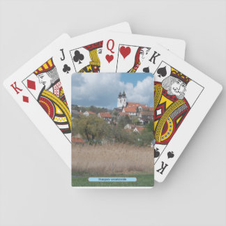 Hungary countryside playing cards