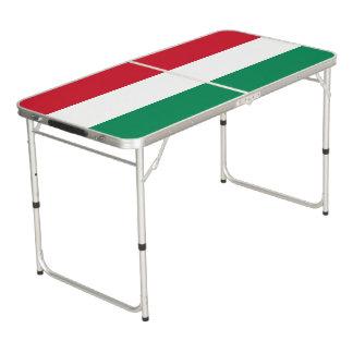 Hungary Flag Beer Pong Table