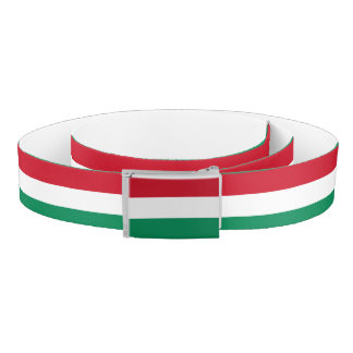 Hungary Flag Belt