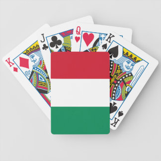 Hungary Flag Bicycle Playing Cards