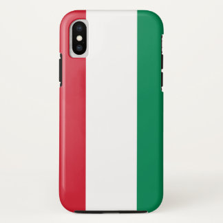 Hungary Flag iPhone X Case