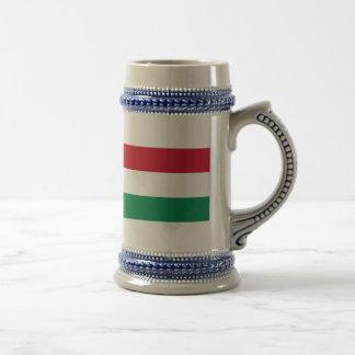 Hungary Flag Coffee Mugs