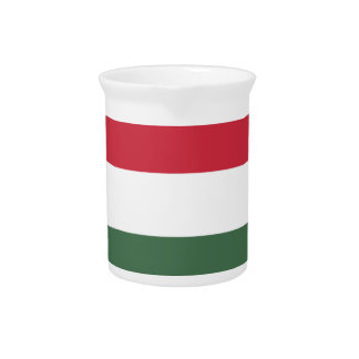 Hungary Flag Pitchers