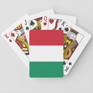 Hungary Flag Playing Cards