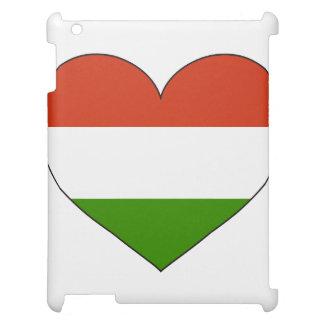 Hungary Flag Simple iPad Case
