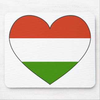 Hungary Flag Simple Mouse Pad