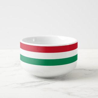 Hungary Flag Soup Mug