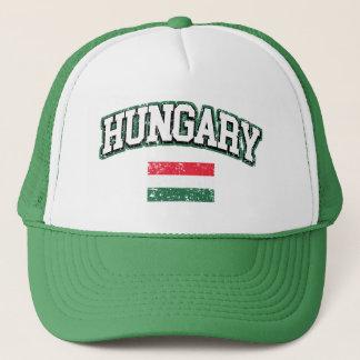 Hungary Flag Trucker Hat