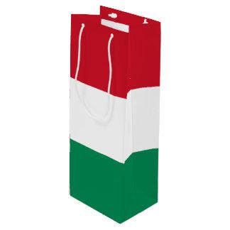 Hungary Flag Wine Gift Bag