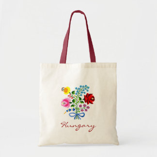 Hungary Flower Tote