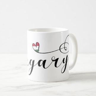 Hungary Heart Mug, Hungarian Coffee Mug