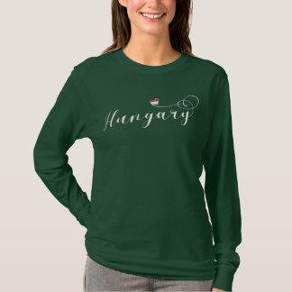 Hungary Heart Tee Shirt, Hungarian