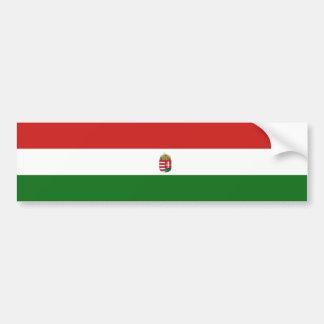 Hungary Hungarian flag Bumper Sticker