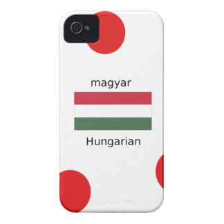 Hungary Language And Flag Design iPhone 4 Case-Mate Case