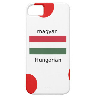 Hungary Language And Flag Design iPhone 5 Case