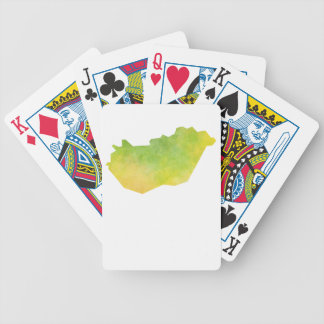 Hungary Map Poker Deck