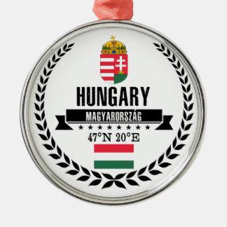 Hungary Metal Ornament