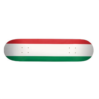 Hungary Plain Flag Skate Board Decks
