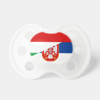 hungary serbia flag country half symbol dummy