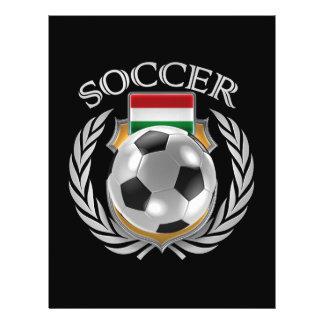 Hungary Soccer 2016 Fan Gear 21.5 Cm X 28 Cm Flyer