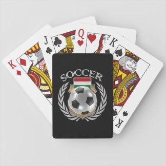 Hungary Soccer 2016 Fan Gear Playing Cards