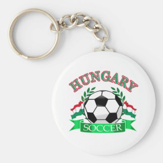 Hungary soccer ball designs keychains