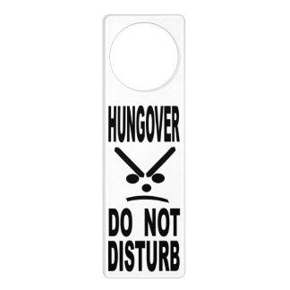 Hungover Do Not Disturb Door Hanger