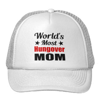 Hungover Mom Funny Drinking Cap