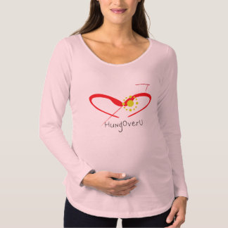HungOverU for pregnant women Maternity T-Shirt