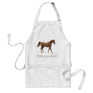 Hungry as a horse? standard apron