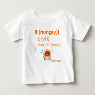 Hungry Baby Baby T-Shirt